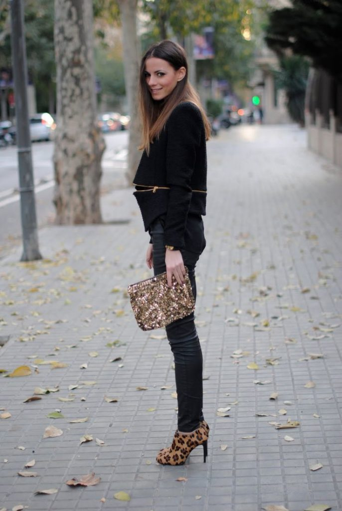 black-and-leopard-print
