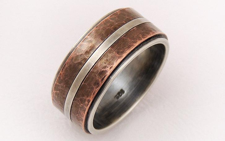 wedding-band-ring-for-men-silver-copper-ringelegant-ringmen-engagement-ring-wide-wedding-band